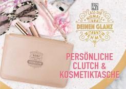 Persoenliche Clutchtasche/Kosmetiktasche