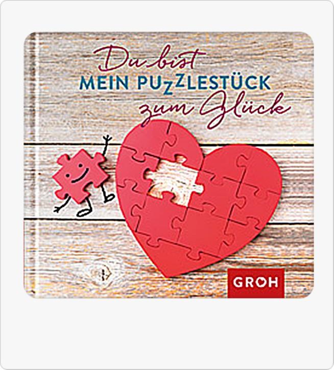 Groh kleines Geschenk Buch Du bist mein Puzzlestück