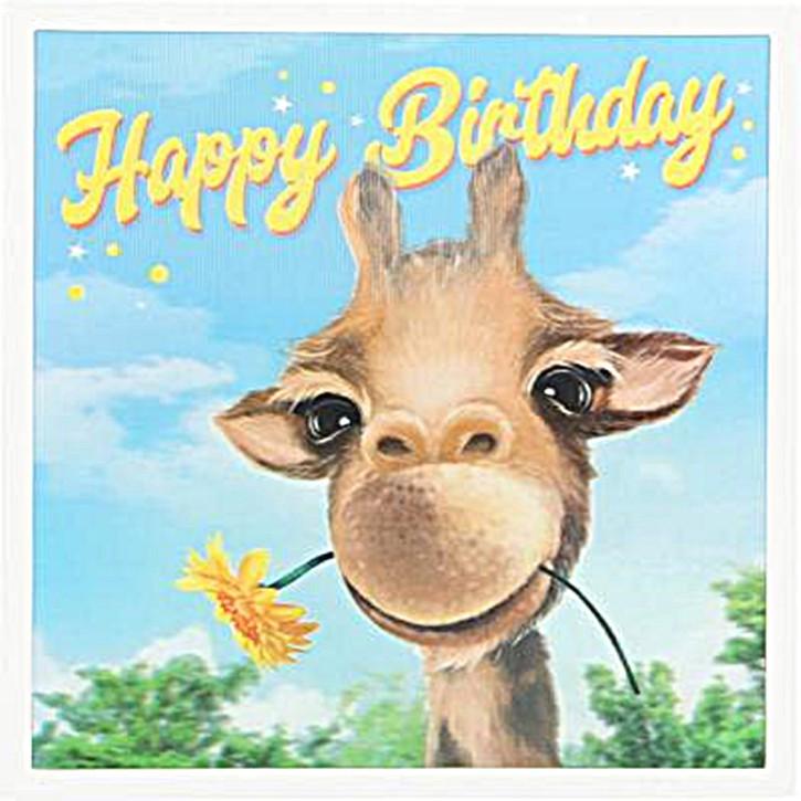 Depesche 3D Klappkarte 010 Happy Birthday