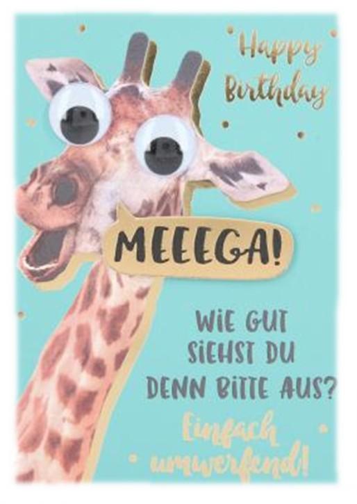Depesche Klappkarten Bitte Laecheln - Happy Birthday