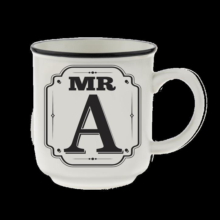 H&H Becher Mr A  - für Hochzeit, Jubiläum und Jahrestag