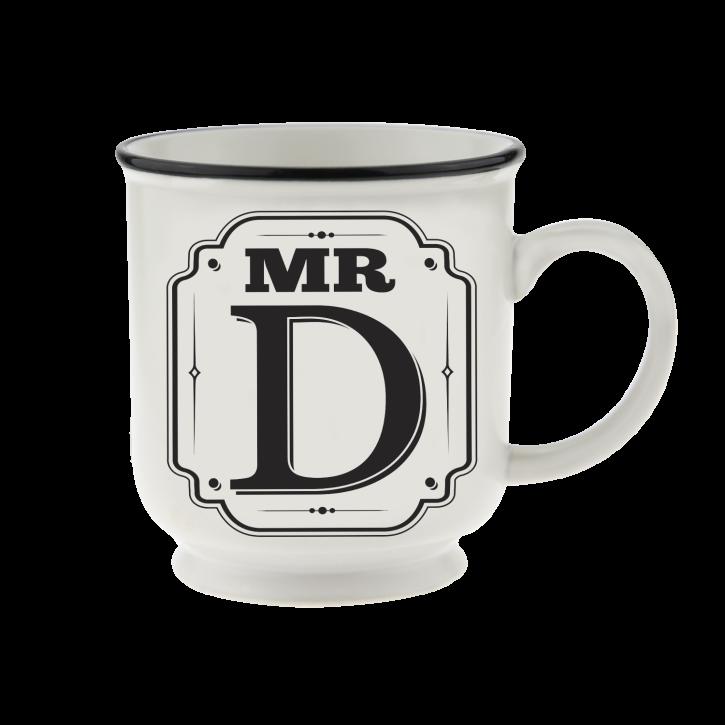 H&H Becher Mr D - für Hochzeit, Jubiläum und Jahrestag