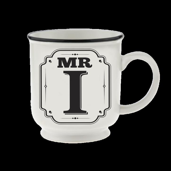 H&H Becher Mr I - für Hochzeit, Jubiläum und Jahrestag