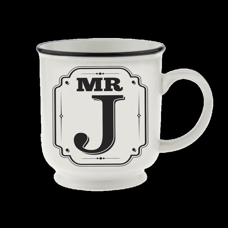 H&H Becher Mr  J - für Hochzeit, Jubiläum und Jahrestag