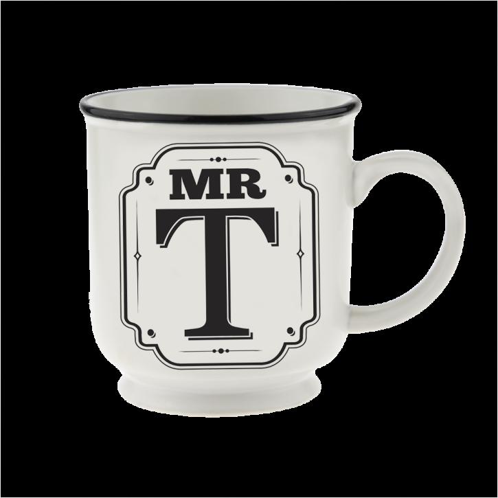 H&H Becher Mr T - für Hochzeit, Jubiläum und Jahrestag
