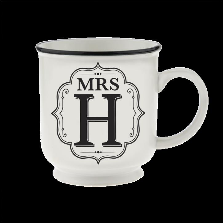 H&H Becher Mrs H - für Hochzeit, Jubiläum und Jahrestag