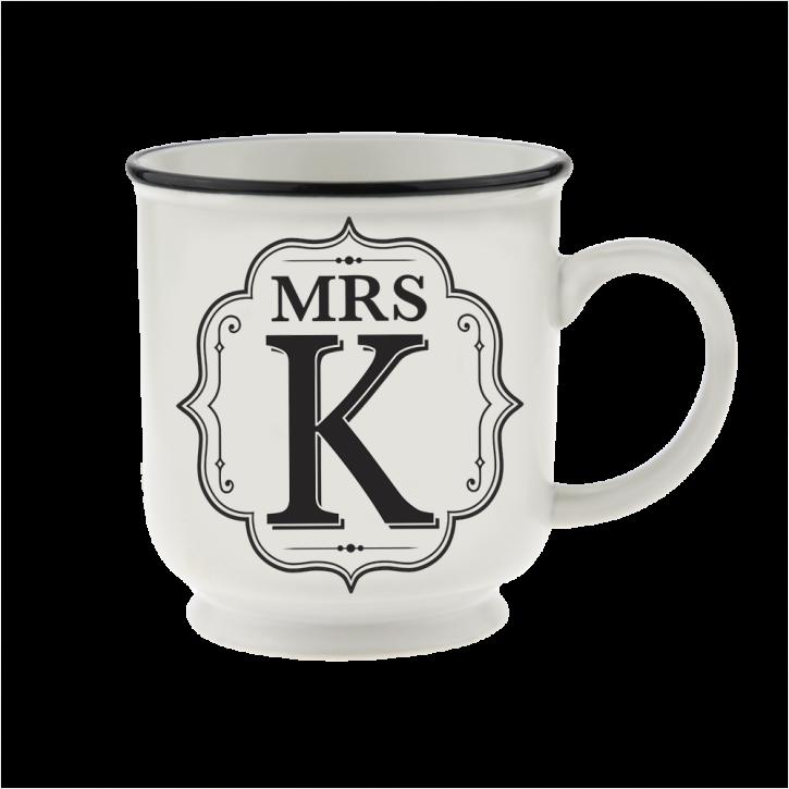 H&H Becher Mrs K - für Hochzeit, Jubiläum und Jahrestag