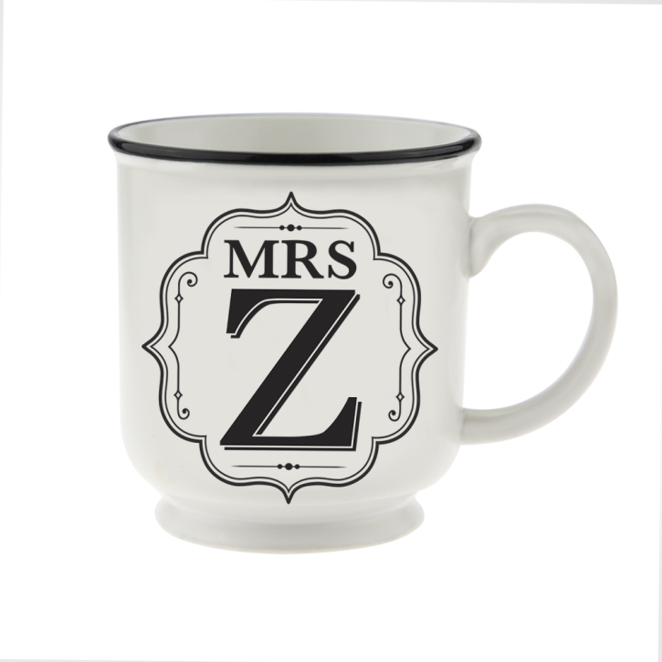 H&H Becher Mrs Z  - für Hochzeit, Jubiläum und Jahrestag