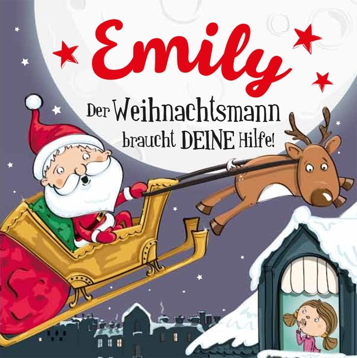 Namens-Weihnachtsbuch - Deine persönliche Weihnachtsgeschichte mit Namen Emily