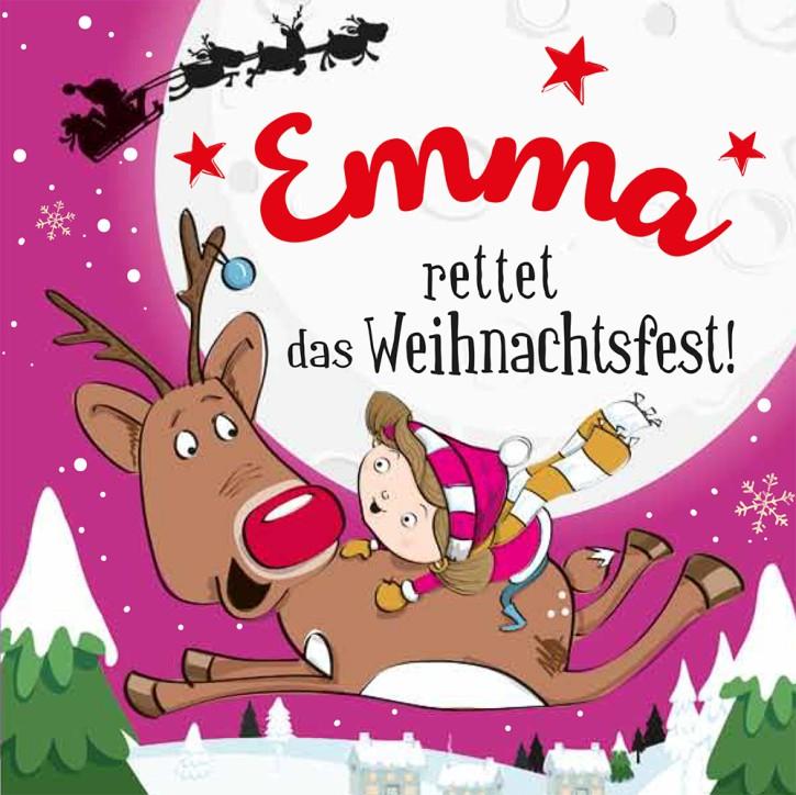 Namens-Weihnachtsbuch - Deine persönliche Weihnachtsgeschichte mit Namen Emma