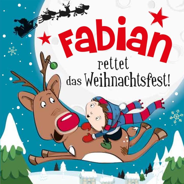 Namens-Weihnachtsbuch - Deine persönliche Weihnachtsgeschichte mit Namen Fabian