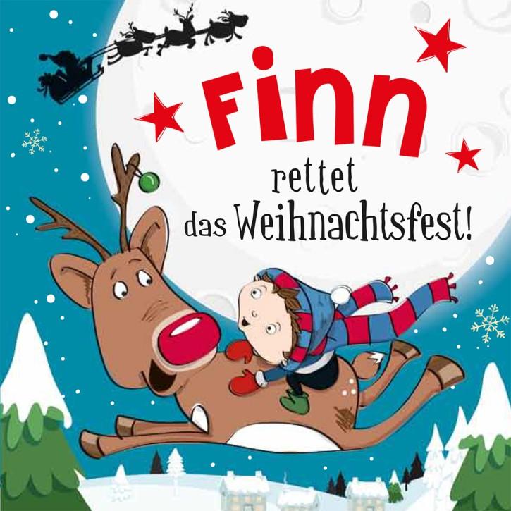 Namens-Weihnachtsbuch - Deine persönliche Weihnachtsgeschichte mit Namen Finn