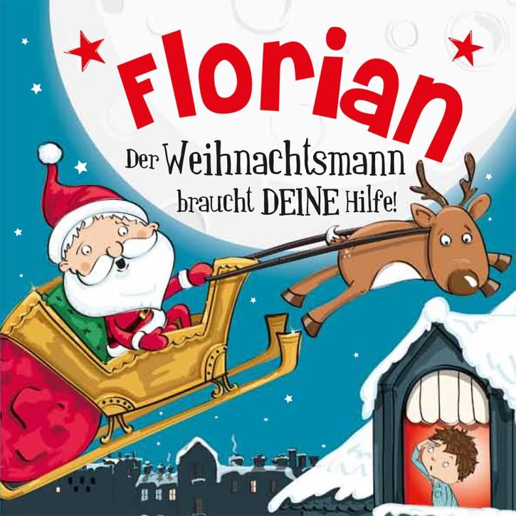 Namens-Weihnachtsbuch - Deine persönliche Weihnachtsgeschichte mit Namen Florian