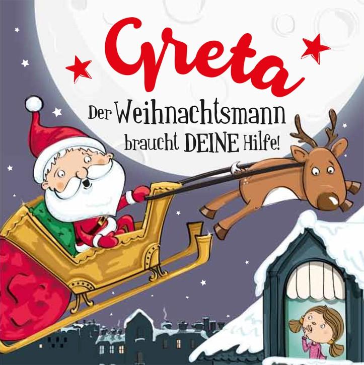 Namens-Weihnachtsbuch - Deine persönliche Weihnachtsgeschichte mit Namen Greta