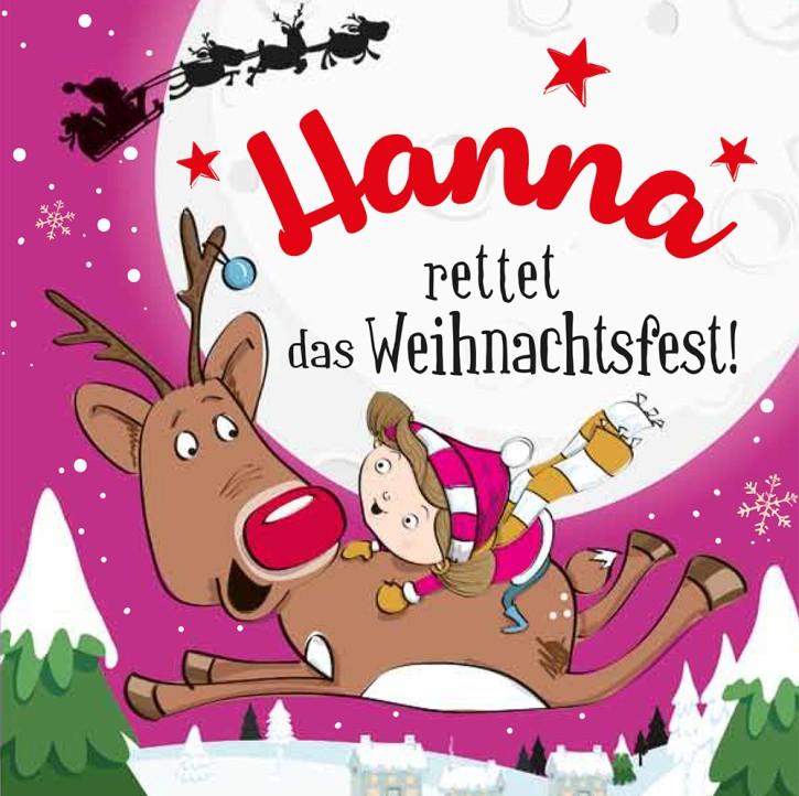 Namens-Weihnachtsbuch - Deine persönliche Weihnachtsgeschichte mit Namen Hanna