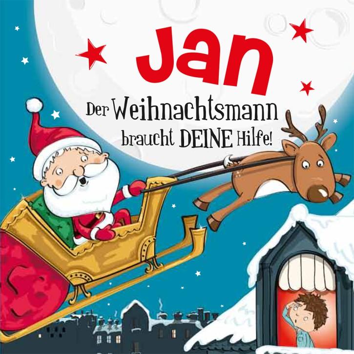 Namens-Weihnachtsbuch - Deine persönliche Weihnachtsgeschichte mit Namen Jan