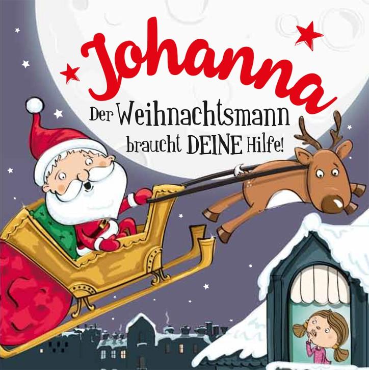 Namens-Weihnachtsbuch - Deine persönliche Weihnachtsgeschichte mit Namen Johanna