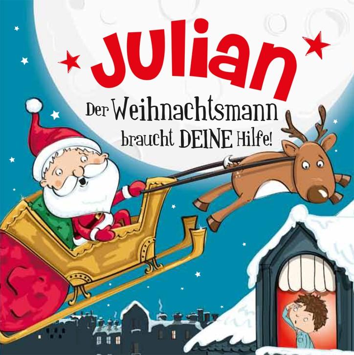 Namens-Weihnachtsbuch - Deine persönliche Weihnachtsgeschichte mit Namen Julian