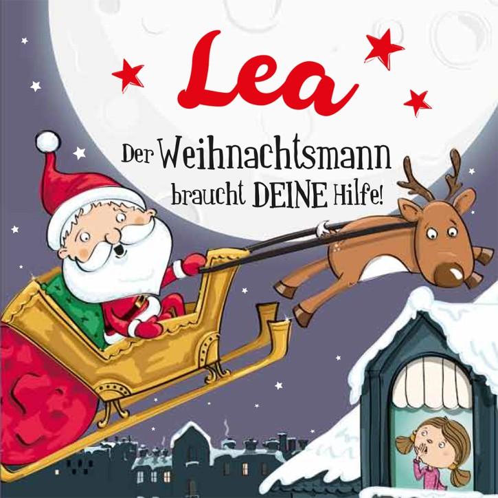 Namens-Weihnachtsbuch - Deine persönliche Weihnachtsgeschichte mit Namen Lea