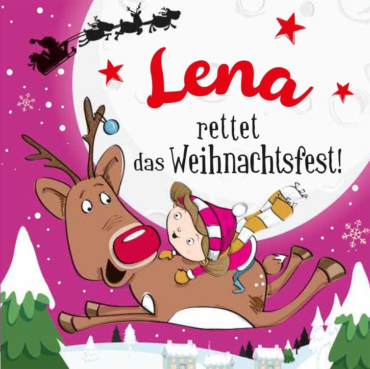 Namens-Weihnachtsbuch - Deine persönliche Weihnachtsgeschichte mit Namen Lena