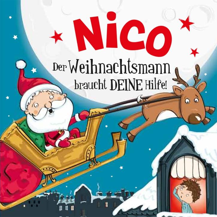 Namens-Weihnachtsbuch - Deine persönliche Weihnachtsgeschichte mit Namen Nico