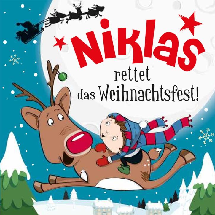 Namens-Weihnachtsbuch - Deine persönliche Weihnachtsgeschichte mit Namen Niklas