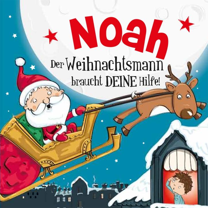 Namens-Weihnachtsbuch - Deine persönliche Weihnachtsgeschichte mit Namen Noah