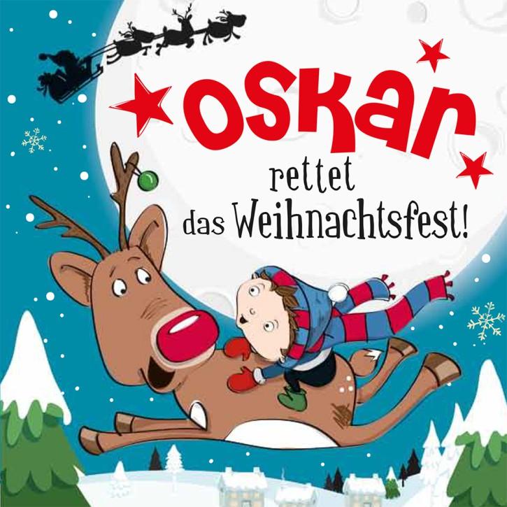 Namens-Weihnachtsbuch - Deine persönliche Weihnachtsgeschichte mit Namen Oskar
