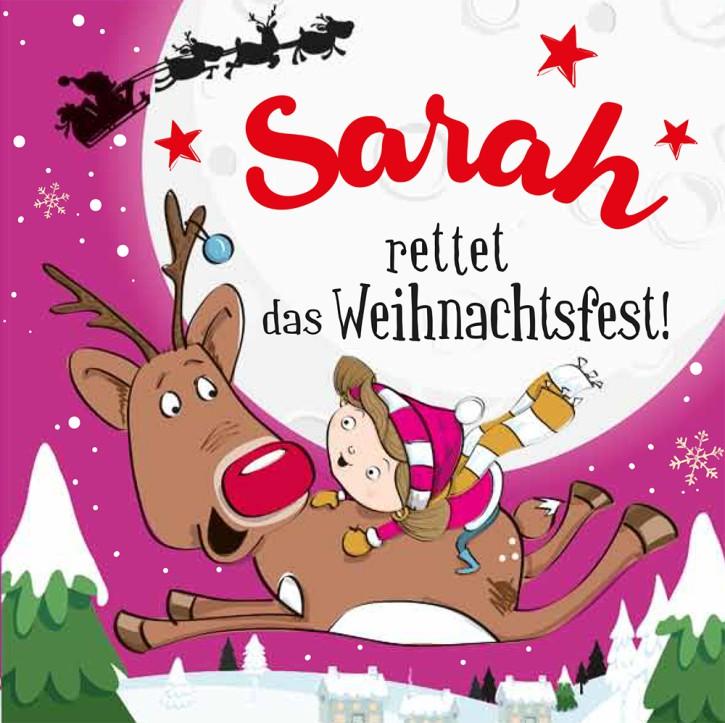 Namens-Weihnachtsbuch - Deine persönliche Weihnachtsgeschichte mit Namen Sarah
