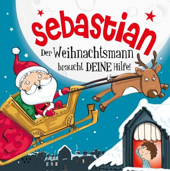 Namens-Weihnachtsbuch - Deine persönliche Weihnachtsgeschichte mit Namen Sebastian