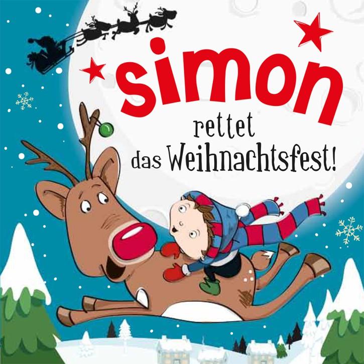 Namens-Weihnachtsbuch - Deine persönliche Weihnachtsgeschichte mit Namen Simon