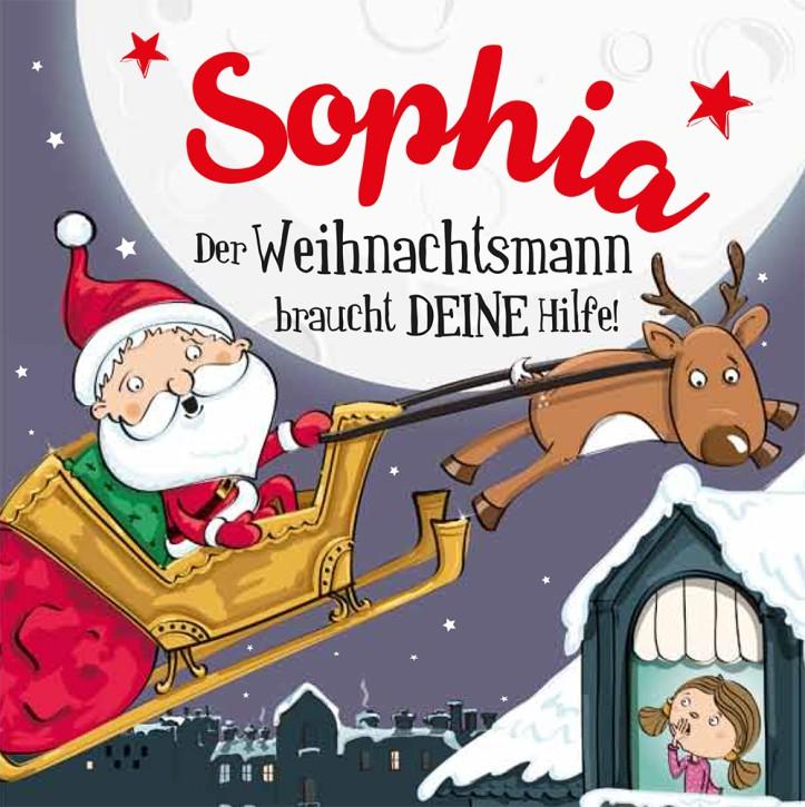 Namens-Weihnachtsbuch - Deine persönliche Weihnachtsgeschichte mit Namen Sophia
