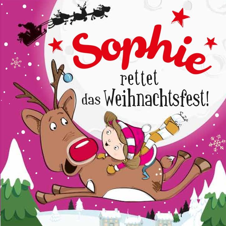 Namens-Weihnachtsbuch - Deine persönliche Weihnachtsgeschichte mit Namen Sophie