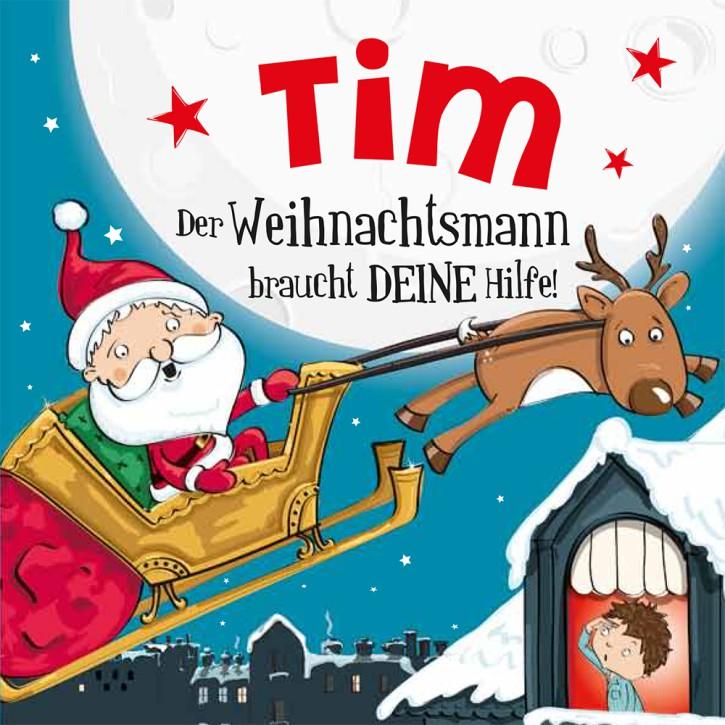 Namens-Weihnachtsbuch - Deine persönliche Weihnachtsgeschichte mit Namen Tim