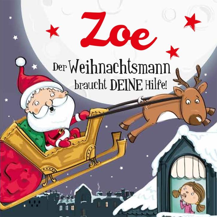 Namens-Weihnachtsbuch - Deine persönliche Weihnachtsgeschichte mit Namen Zoe