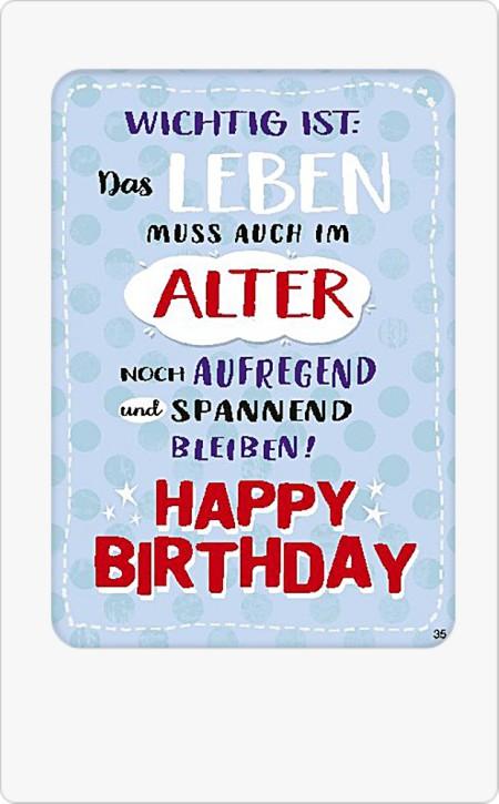 Musikkarten mit Überraschung 035d Happy Birthday