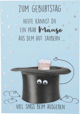 Depesche Klappkarten Bitte Laecheln - Zum Geburtstag Heute kannst du ein...