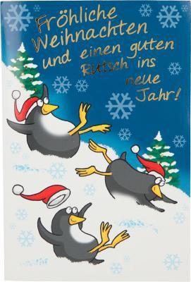 Weihnachtskarten mit Musik und Licht - Fröhliche Weihnachten und einen guten...