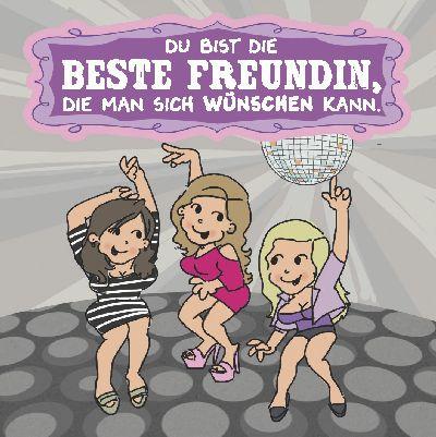 Musikschachtel 5580-047C Du bist die Beste Freundin