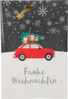 Weihnachtskarten mit Musik und Licht - Frohe Weihnachten
