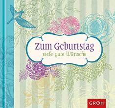 Groh Buch Zum Geburtstag viele gute Wünsche