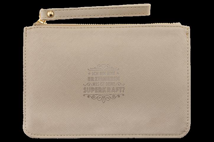 Persoenliche Clutchtasche/Kosmetiktasche Erzieherin Handtasche Damen