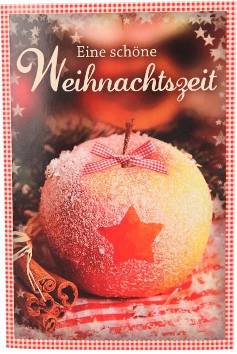 Weihnachtskarte mit Musik und Licht 11338 Motiv 009