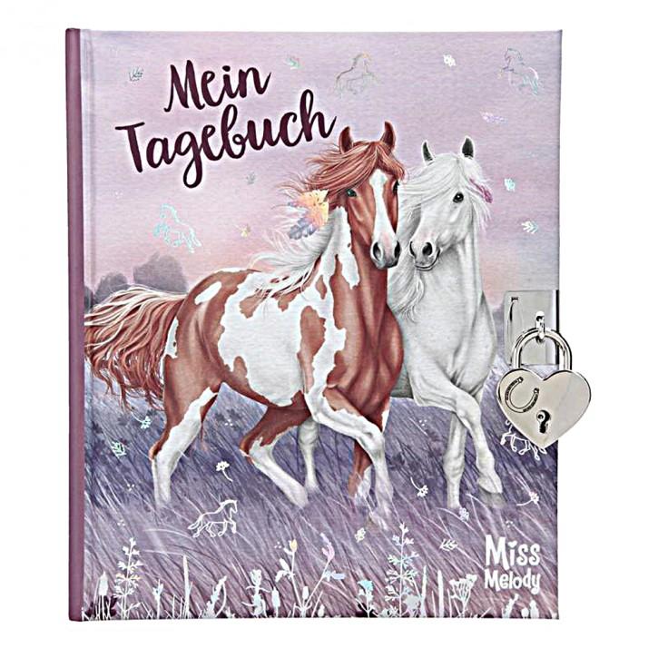 Depesche Serie Miss Melody Tagebuch mit Stickern, Motiv 1
