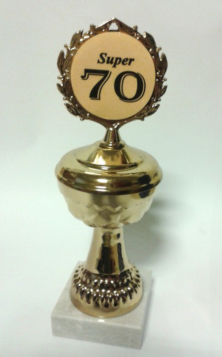 Pokal auf Marmorsockel zum 70. Geburtstag Artikel 66800