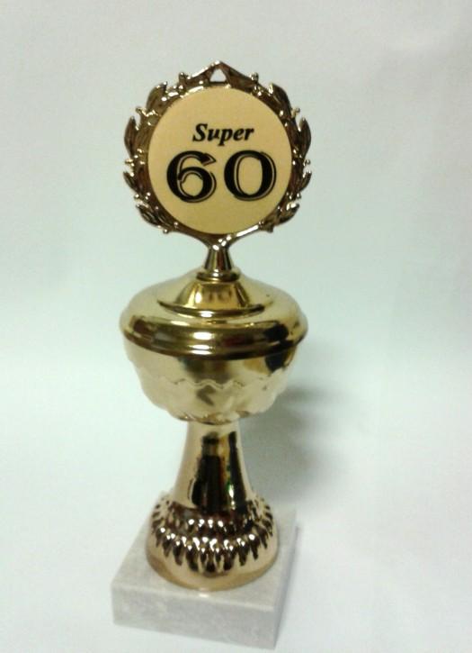 Pokal auf Marmorsockel zum 60. Geburtstag Artikel 66800
