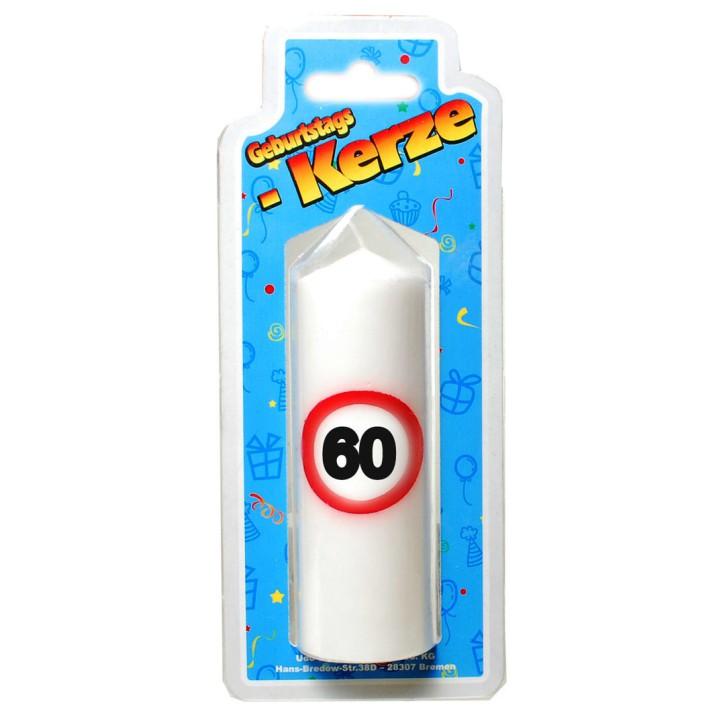 Geburtstags Kerze zum 60. Geburtstag