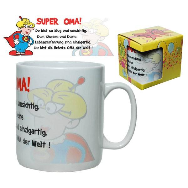 Riesen-Becher Tasse für  Super Oma