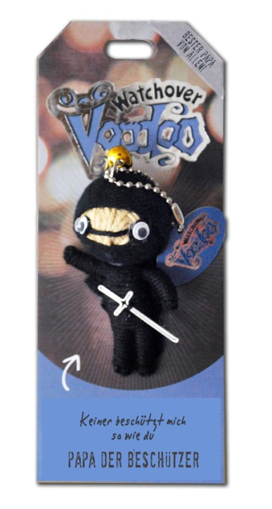 Watchover Voodoo Sammel Puppe mit Spruch Papa Beschützer
