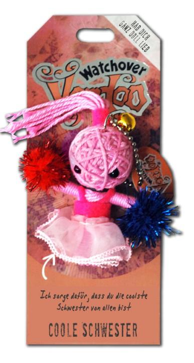 Watchover Voodoo Sammel Puppe mit Spruch Coole Schwester